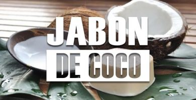para que sirve el jabon de coco