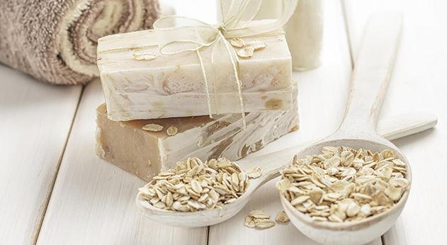 propiedades curativas del jabon de avena