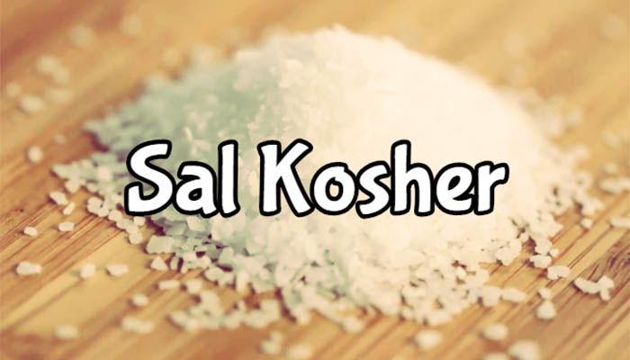 para que sirve la sal kosher